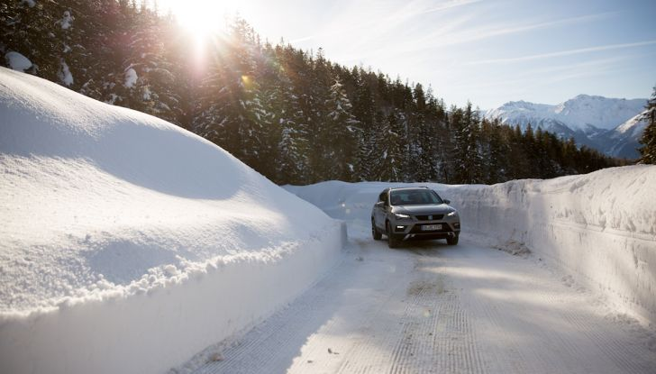 SEAT e la trazione integrale 4Drive, prova e recensione sulla neve - Foto 38 di 62