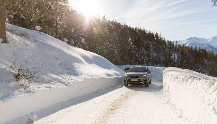 SEAT e la trazione integrale 4Drive, prova e recensione sulla neve - Foto 39 di 62