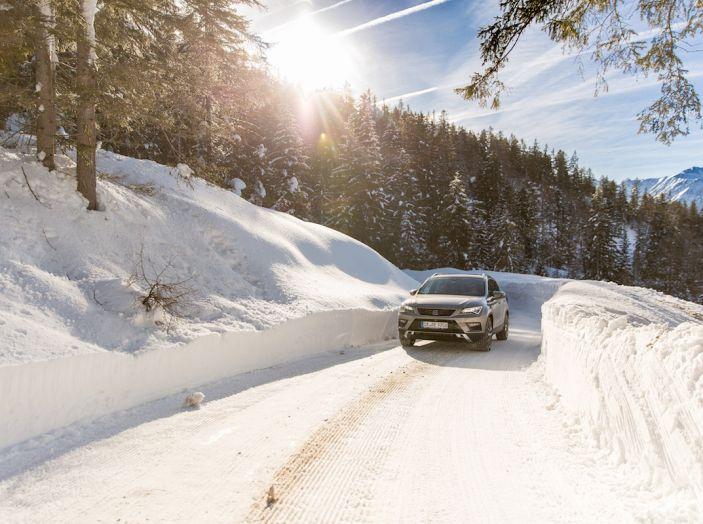 SEAT e la trazione integrale 4Drive, prova e recensione sulla neve - Foto 40 di 62