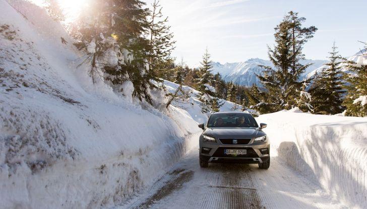 SEAT e la trazione integrale 4Drive, prova e recensione sulla neve - Foto 41 di 62