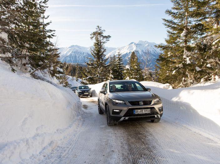 SEAT e la trazione integrale 4Drive, prova e recensione sulla neve - Foto 42 di 62