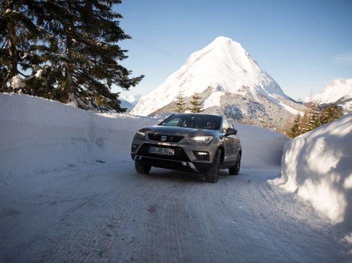 SEAT e la trazione integrale 4Drive, prova e recensione sulla neve - Foto 43 di 62