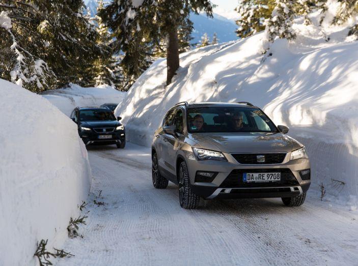 SEAT e la trazione integrale 4Drive, prova e recensione sulla neve - Foto 44 di 62