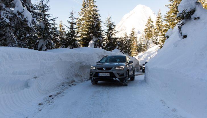 SEAT e la trazione integrale 4Drive, prova e recensione sulla neve - Foto 45 di 62