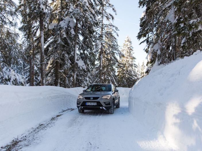 SEAT e la trazione integrale 4Drive, prova e recensione sulla neve - Foto 2 di 62