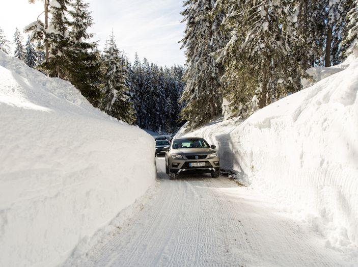 SEAT e la trazione integrale 4Drive, prova e recensione sulla neve - Foto 47 di 62