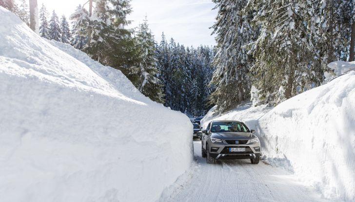 SEAT e la trazione integrale 4Drive, prova e recensione sulla neve - Foto 48 di 62