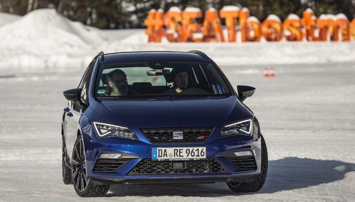 SEAT e la trazione integrale 4Drive, prova e recensione sulla neve - Foto 11 di 62