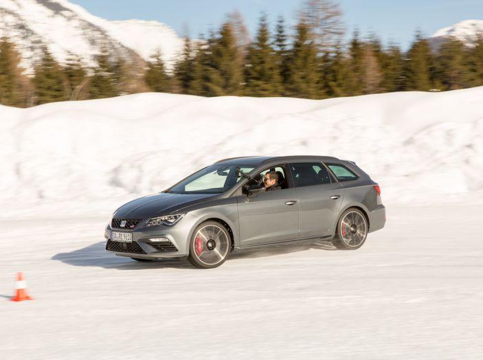 SEAT e la trazione integrale 4Drive, prova e recensione sulla neve - Foto 53 di 62