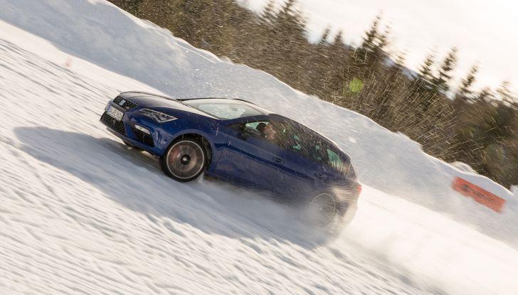SEAT e la trazione integrale 4Drive, prova e recensione sulla neve - Foto 54 di 62