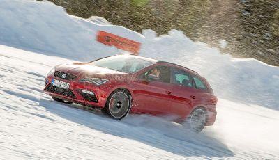 SEAT e la trazione integrale 4Drive, prova e recensione sulla neve