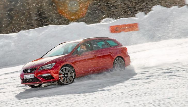 SEAT e la trazione integrale 4Drive, prova e recensione sulla neve - Foto 55 di 62