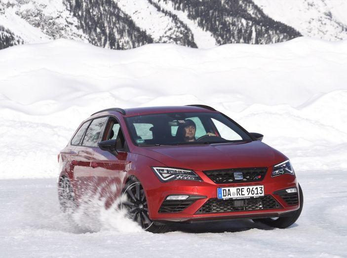 SEAT e la trazione integrale 4Drive, prova e recensione sulla neve - Foto 57 di 62
