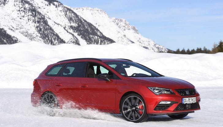 SEAT e la trazione integrale 4Drive, prova e recensione sulla neve - Foto 58 di 62