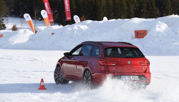 SEAT e la trazione integrale 4Drive, prova e recensione sulla neve - Foto 59 di 62