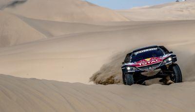 Dakar 2018 – VOCE al team Peugeot alla fine della terza tappa