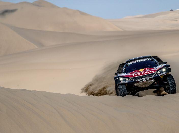 Dakar 2018 – VOCE al team Peugeot alla fine della terza tappa - Foto 1 di 3