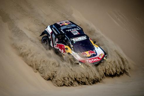 Dakar 2018 – VOCE al team Peugeot alla fine della terza tappa - Foto 2 di 3