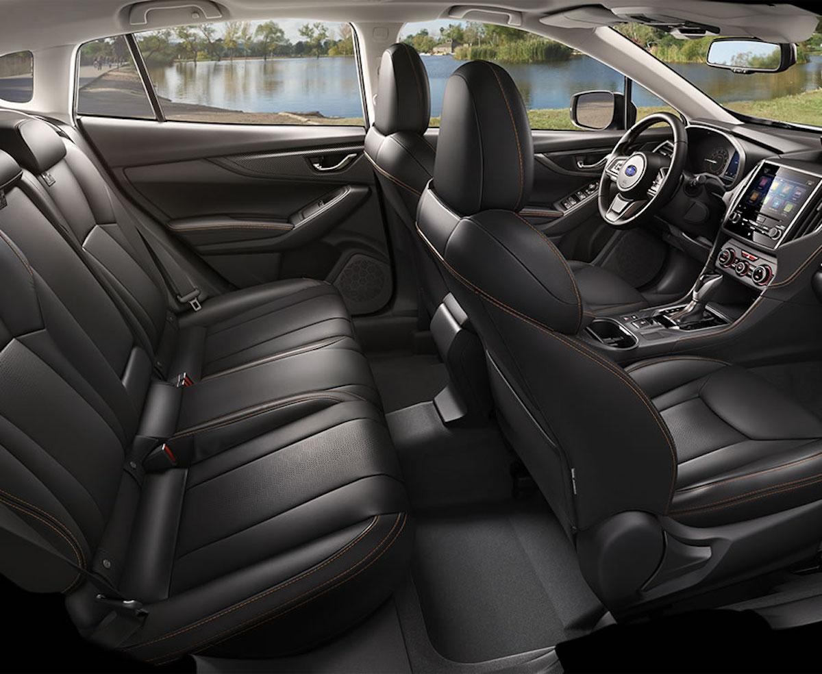 Subaru XV 2018, gli interni