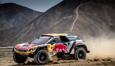 Le Peugeot 3008DKR Maxi sono pronte a partire per la Dakar 2018