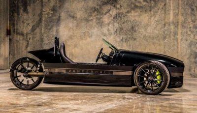 Vanderhall Edison 2, il triciclo elettrico da 180 CV