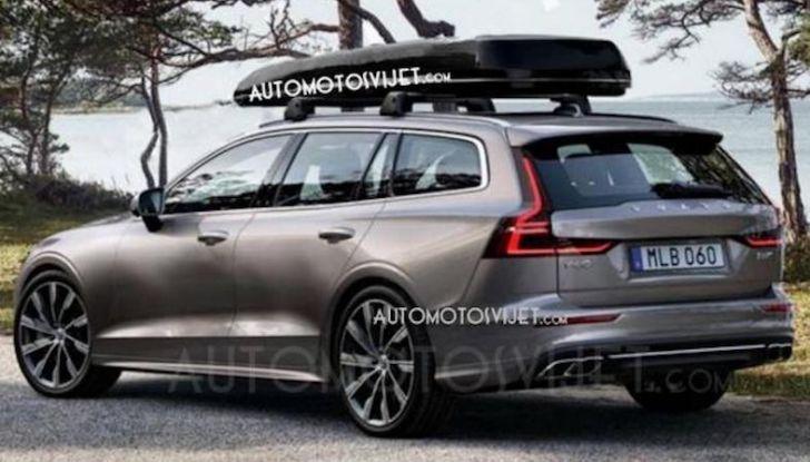 Volvo V60 2018: tutta nuova, con linee più moderne e tanta tecnologia - Foto 2 di 20