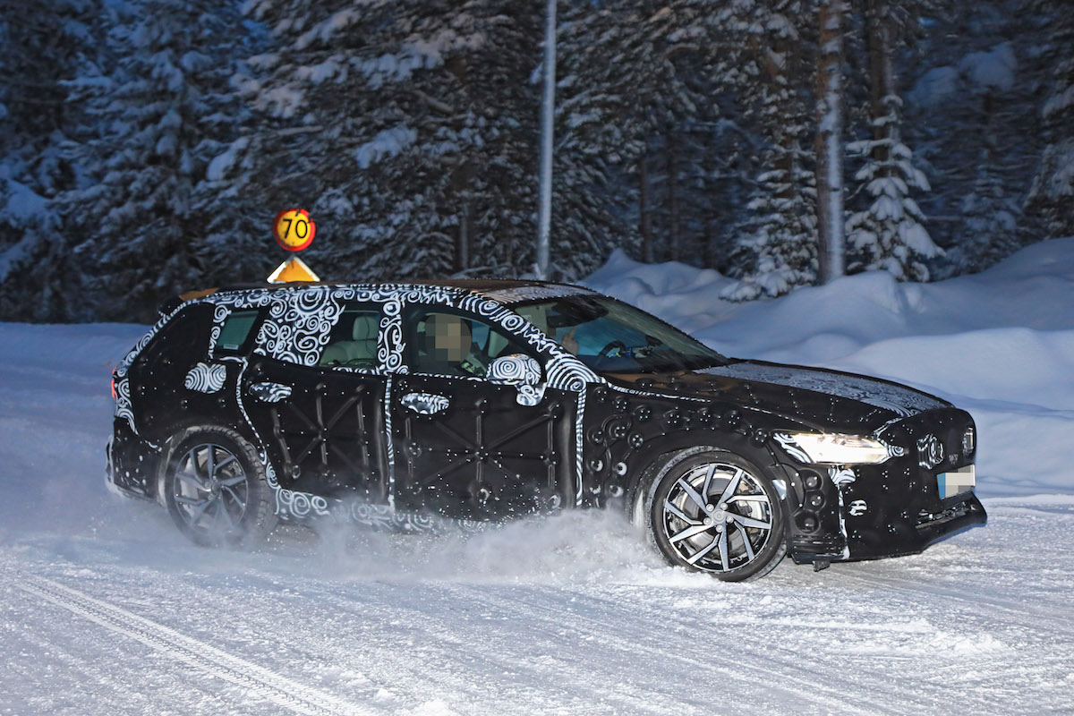 Volvo V60 2019 sorpresa durante i test