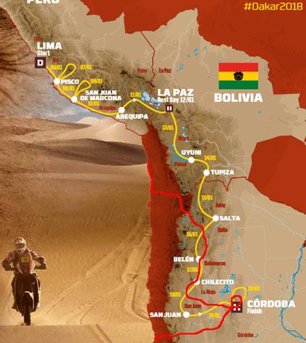 Dakar 2018 – Un percorso lungo quasi 9.000 km - Foto 2 di 2