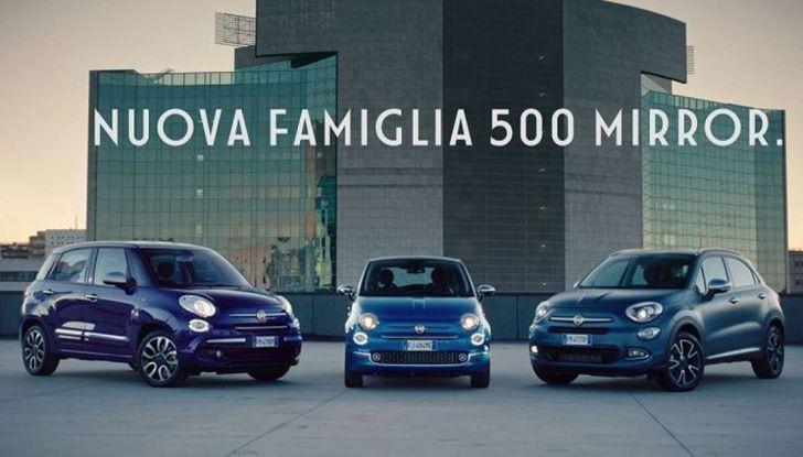"""Fiat 500 Mirror: lo """"specchio"""" di Apple e Android - Foto 5 di 15"""