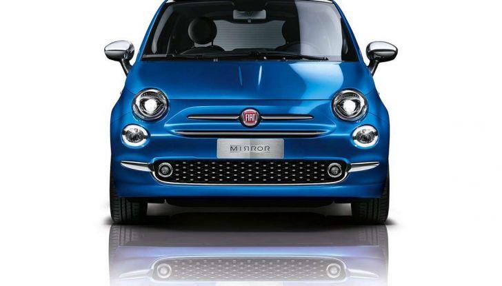 """Fiat 500 Mirror: lo """"specchio"""" di Apple e Android - Foto 10 di 15"""