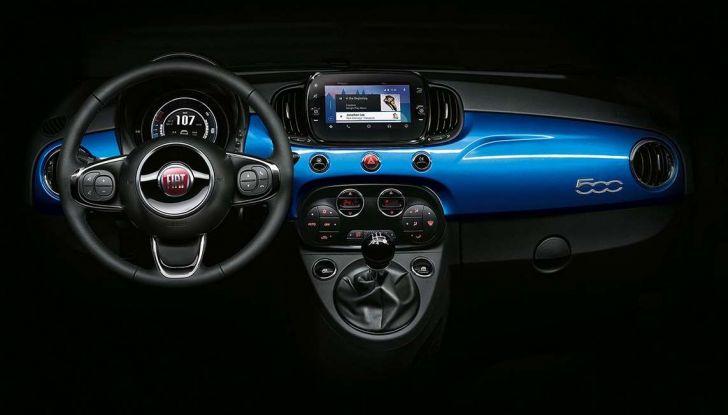 """Fiat 500 Mirror: lo """"specchio"""" di Apple e Android - Foto 13 di 15"""