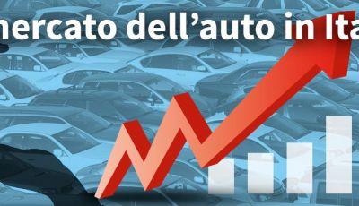 Mercato auto 2017: le immatricolazioni salgono con un generoso +7,92%