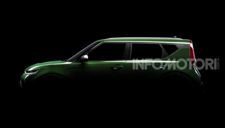 Kia Soul 2019 prime immagini della nuova generazione - Foto 11 di 15