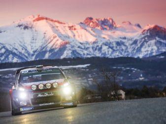 WRC Monte Carlo: punti preziosi per il team Citroën
