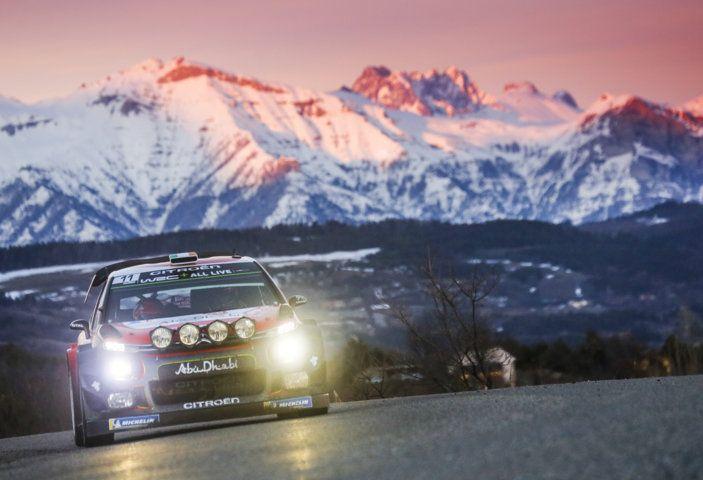 WRC Monte Carlo: punti preziosi per il team Citroën - Foto 1 di 5