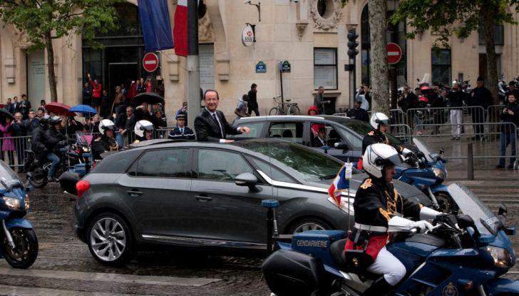 DS AUTOMOBILES con le auto presidenziali al salone Rétromobile - Foto 4 di 4