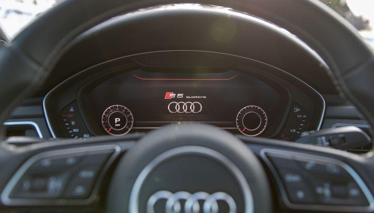 [VIDEO] Audi S5 Sportback 2018: la nostra prova su strada - Foto 29 di 36