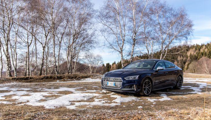 [VIDEO] Audi S5 Sportback 2018: la nostra prova su strada - Foto 34 di 36