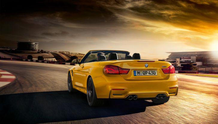 BMW M4 MY 2020: nuovo frontale e prestazioni al top - Foto 3 di 11