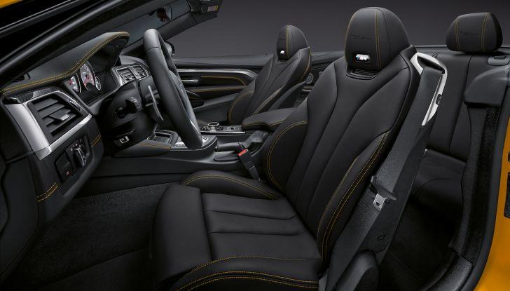 BMW M4 MY 2020: nuovo frontale e prestazioni al top - Foto 9 di 11