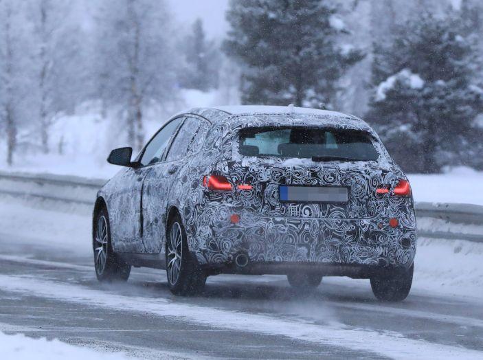 BMW Serie 1 2019: trazione anteriore, design rivisitato - Foto 10 di 10