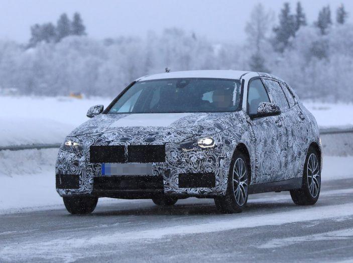 BMW Serie 1 2019: trazione anteriore, design rivisitato - Foto 1 di 10
