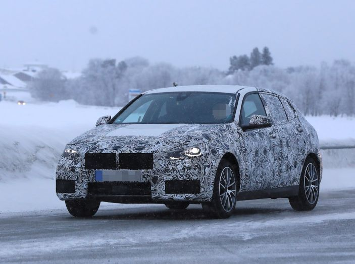 BMW Serie 1 2019: trazione anteriore, design rivisitato - Foto 3 di 10
