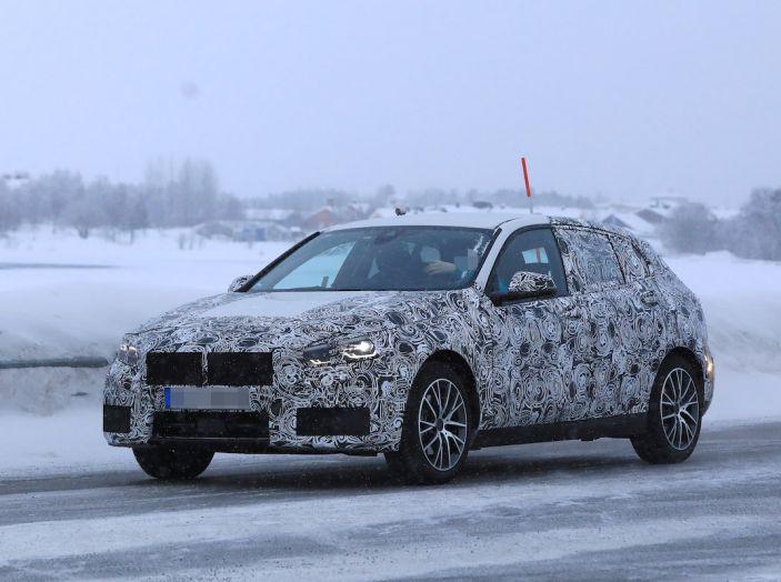 BMW Serie 1 2019: trazione anteriore, design rivisitato - Foto 4 di 10