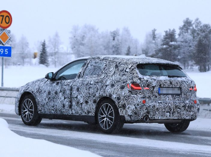 BMW Serie 1 2019: trazione anteriore, design rivisitato - Foto 8 di 10