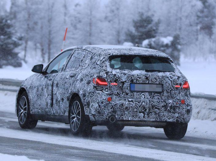 BMW Serie 1 2019: trazione anteriore, design rivisitato - Foto 9 di 10