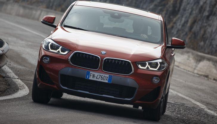 [VIDEO] BMW X2 2018, prova su strada: la rivoluzione del ribelle! - Foto 15 di 42