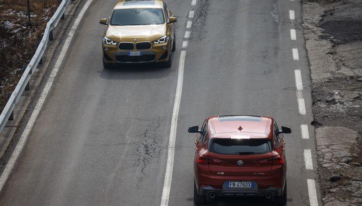 [VIDEO] BMW X2 2018, prova su strada: la rivoluzione del ribelle! - Foto 16 di 42