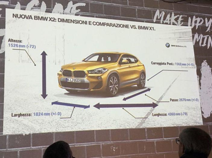 [VIDEO] BMW X2 2018, prova su strada: la rivoluzione del ribelle! - Foto 40 di 42