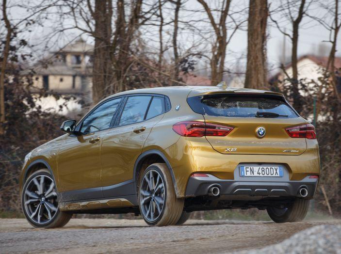 [VIDEO] BMW X2 2018, prova su strada: la rivoluzione del ribelle! - Foto 11 di 42
